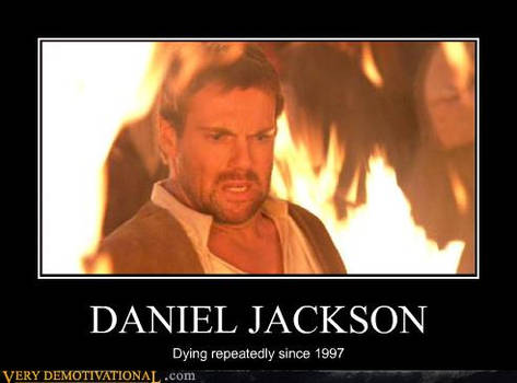 Daniel Jackson Demotivational