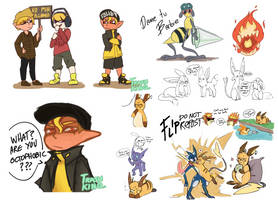 flips doodle 1 by Trashkinq