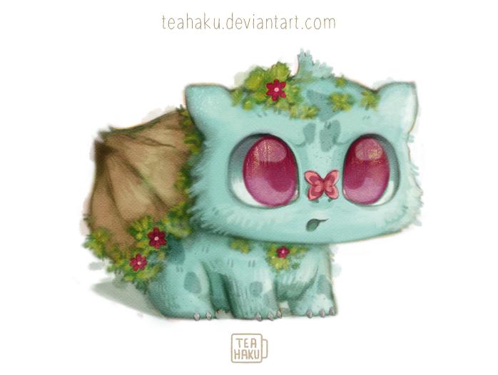 Pokemon: Bulbasaur by Teahaku