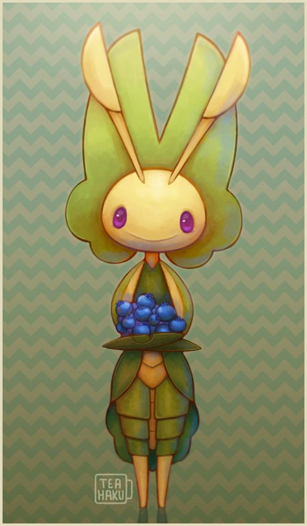 Pokemon: Leavanny by Teahaku on DeviantArt