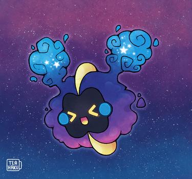 Pokemon: Cosmog by Teahaku