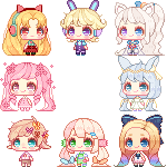Bonbon Icon Pack #2 by Teahaku