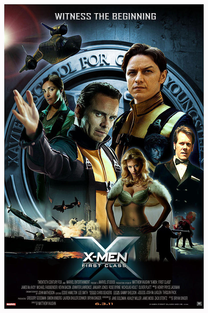 X Men First Class 2 Poster X-men First Class by N...