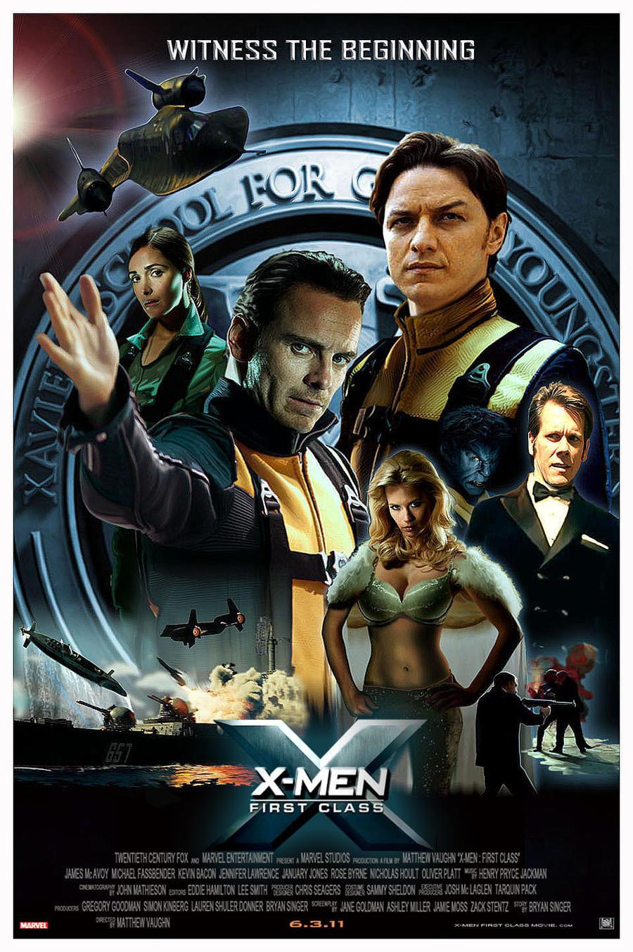 The x men movie 1