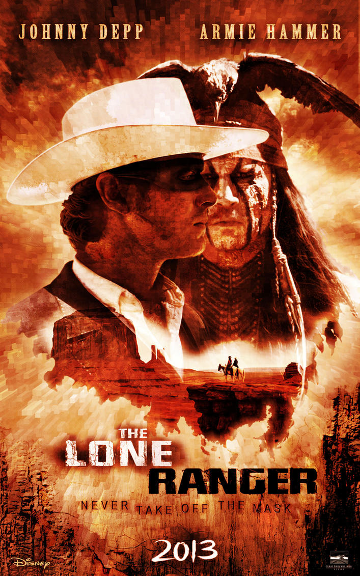 the lone ranger 2013 by n8ma on deviantart