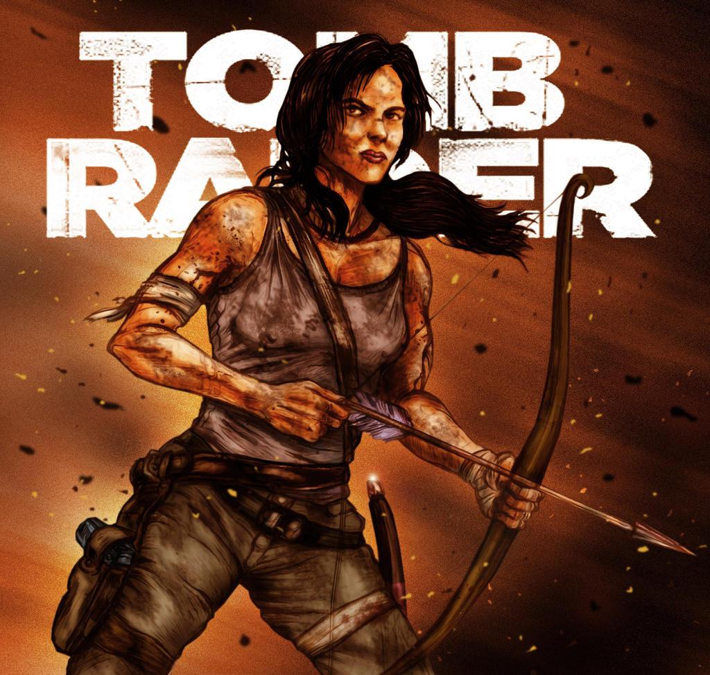 Tomb Raider 2013 Wallpaper: TOMB RAIDER REBORN By N8MA On DeviantArt