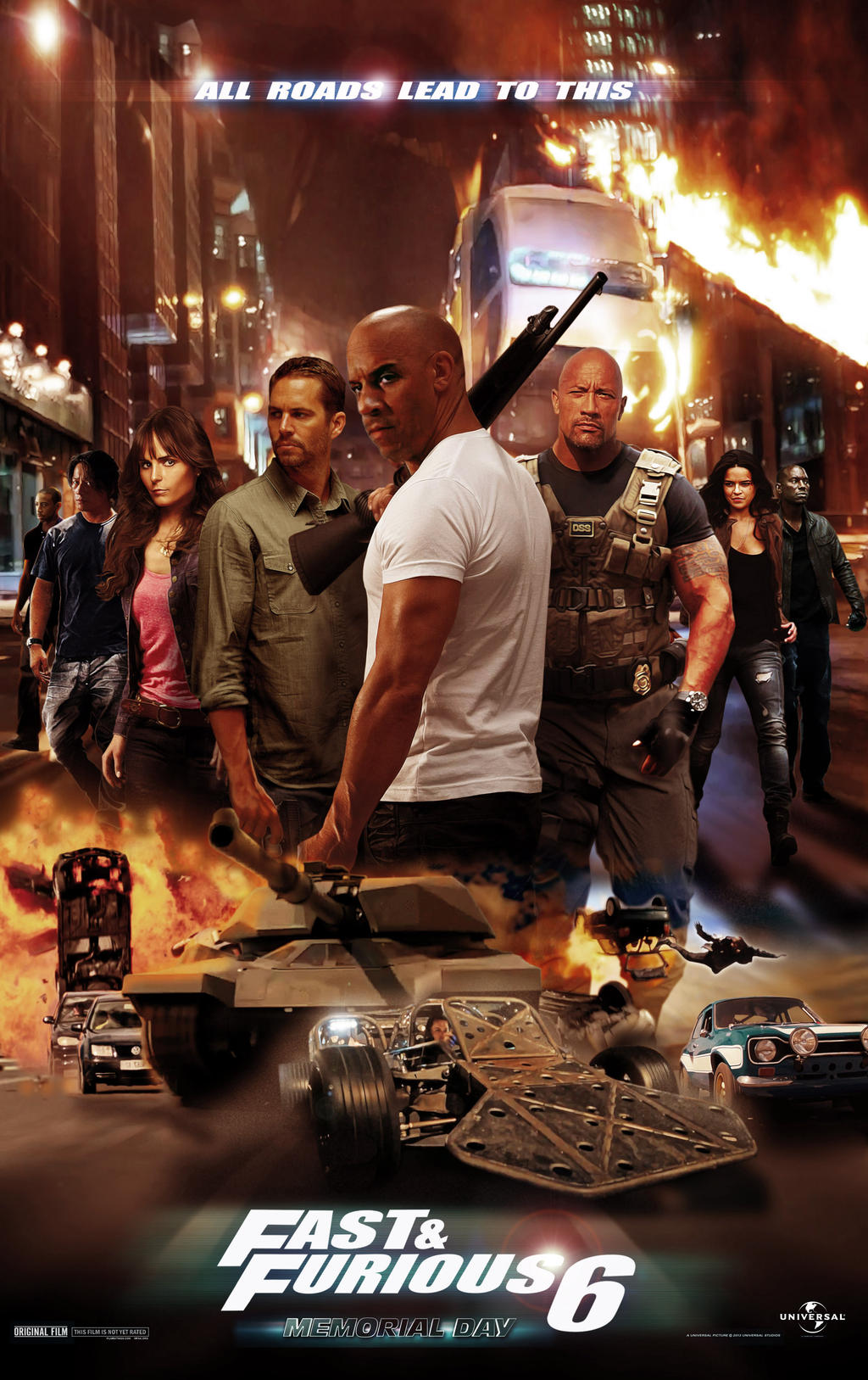 FAST AND FURIOUS 6 by N8MA on DeviantArt