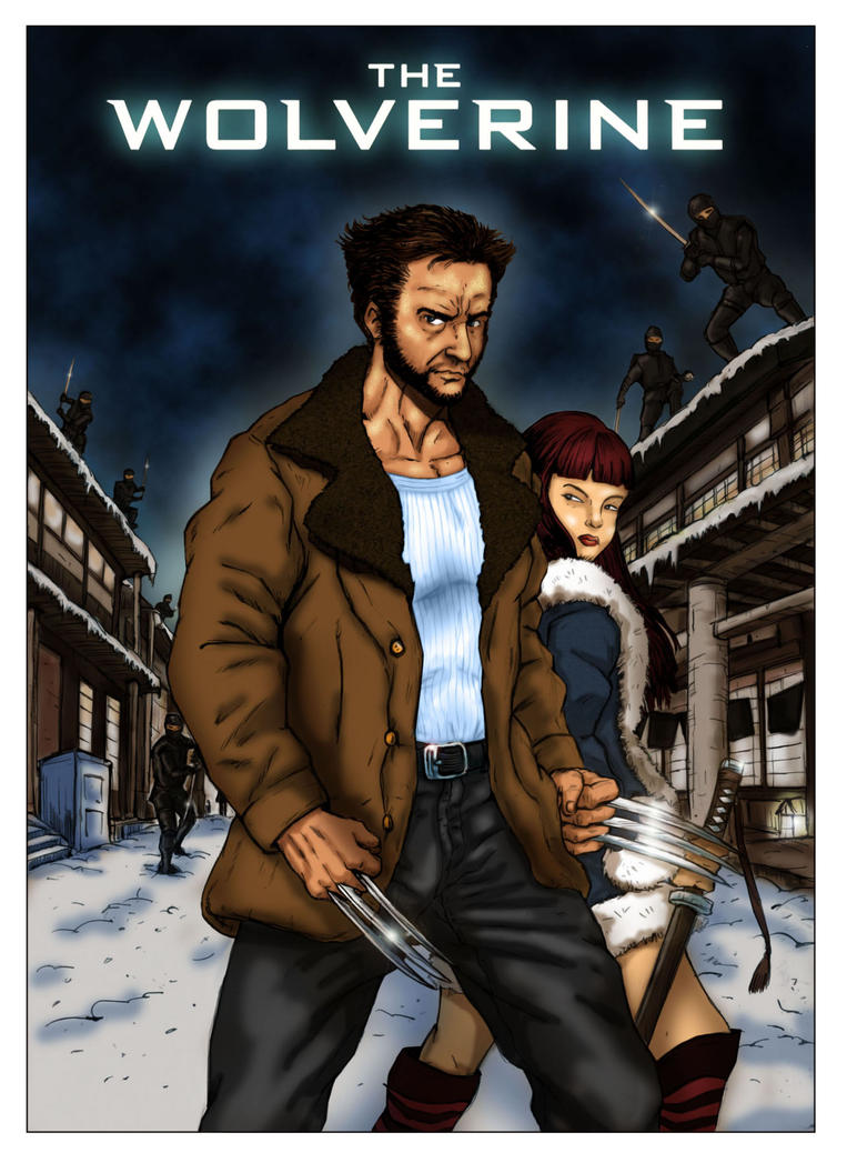 The wolverine poster ninjas pictures