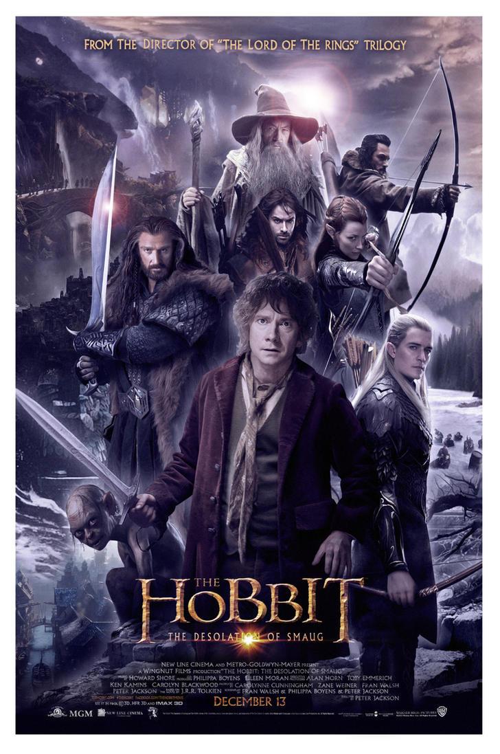 the hobbit - desolation of smaugn8ma on deviantart