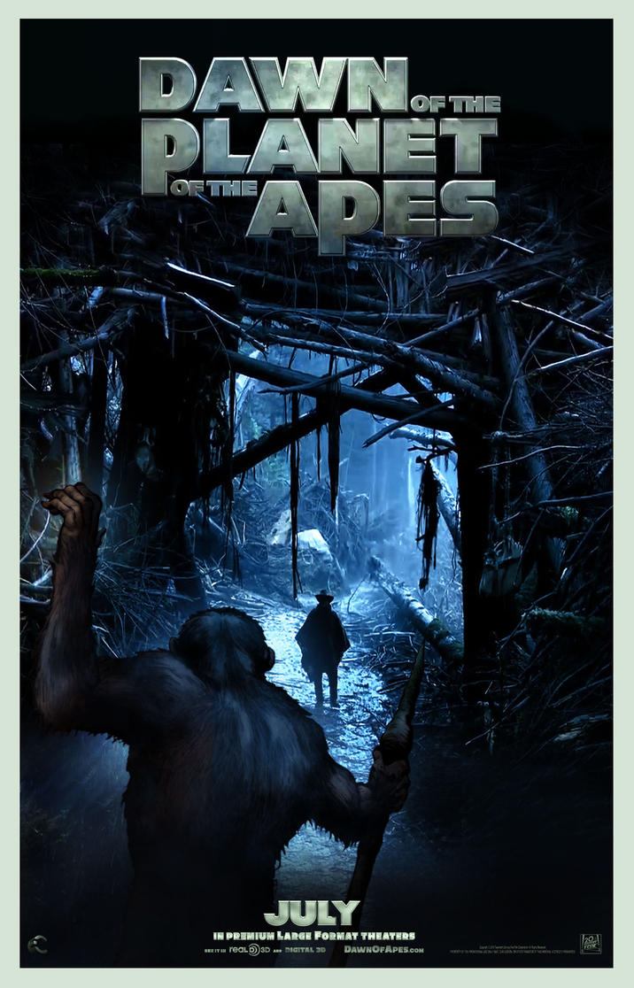 Dawn of The Planet of the Apes by N8MA