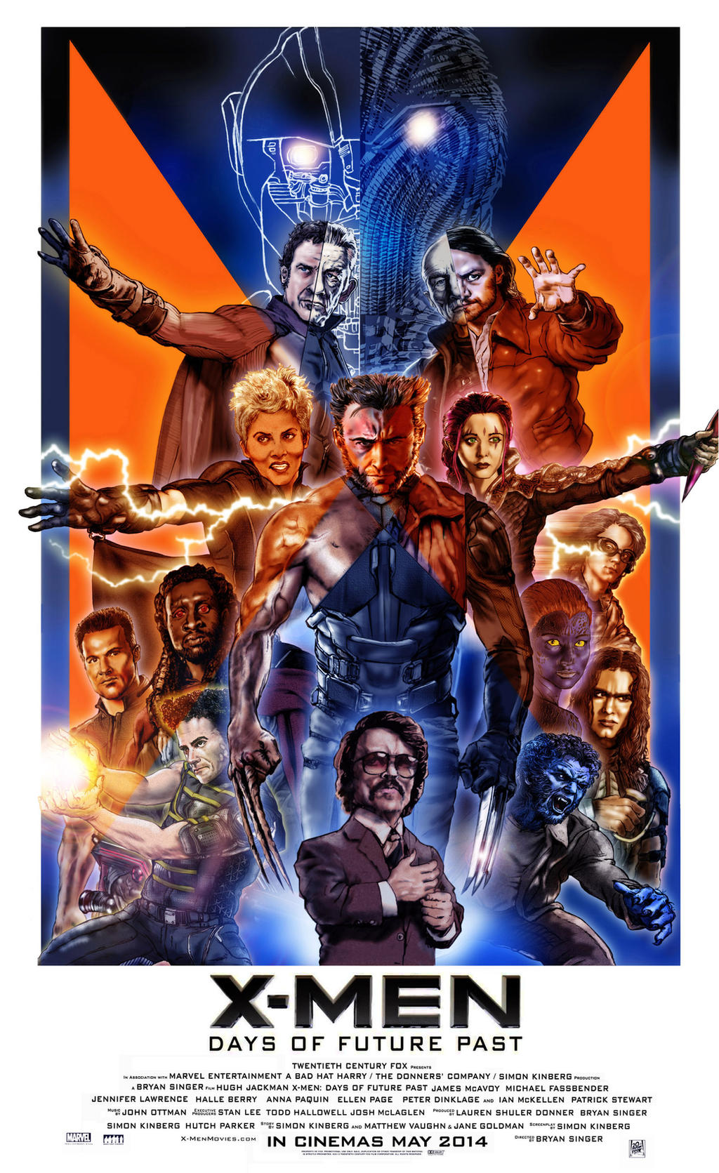 X-Men Days of Future Past poster by N8MA on DeviantArt