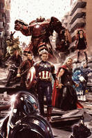 AVENGERS : AGE OF ULTRON by N8MA