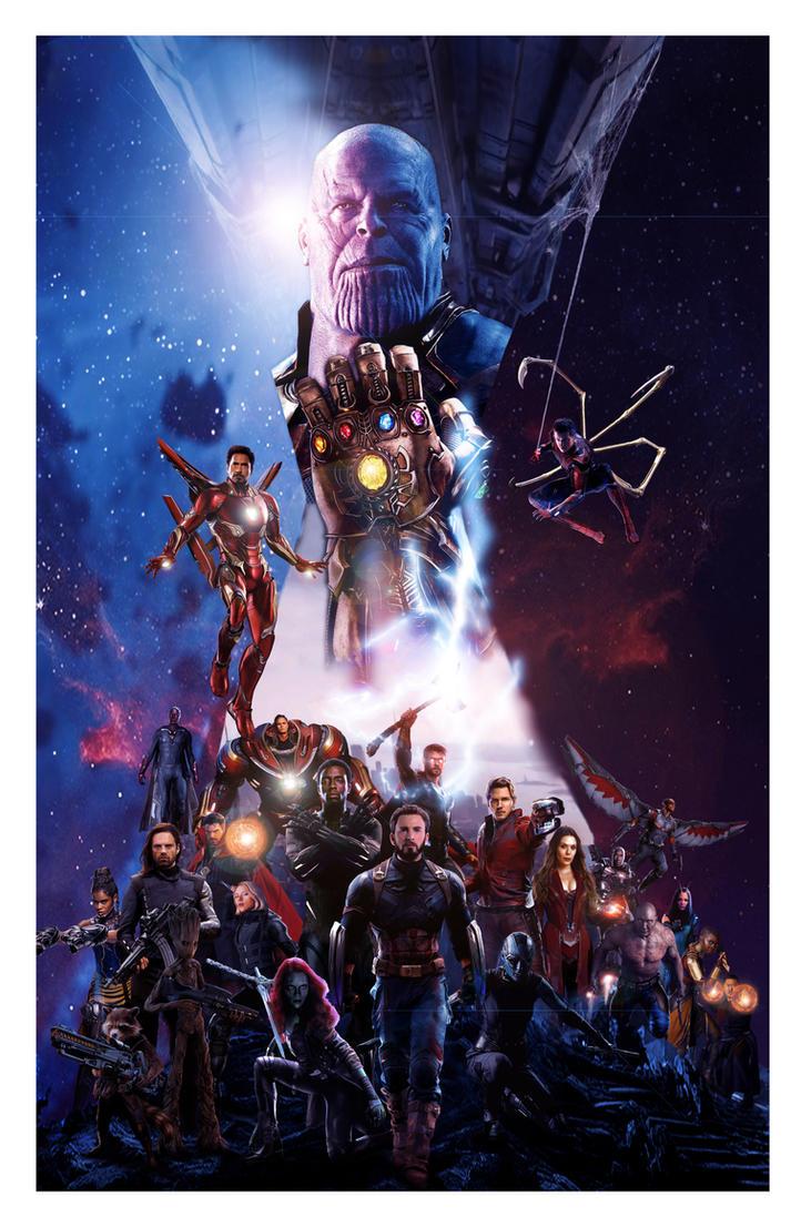 Avengers Infinity War by N8MA