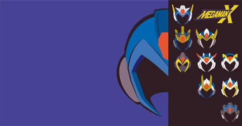 Mega Man X - Wallpaper