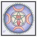 -Mandala- by higesblue