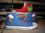 MLP Shoes - Rainbow Dash and Big Macintosh