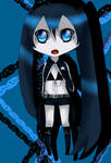 black rock shooter chibi