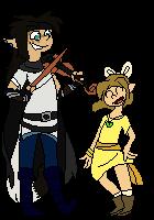 (comm) Aikanaro and Tanya pixel