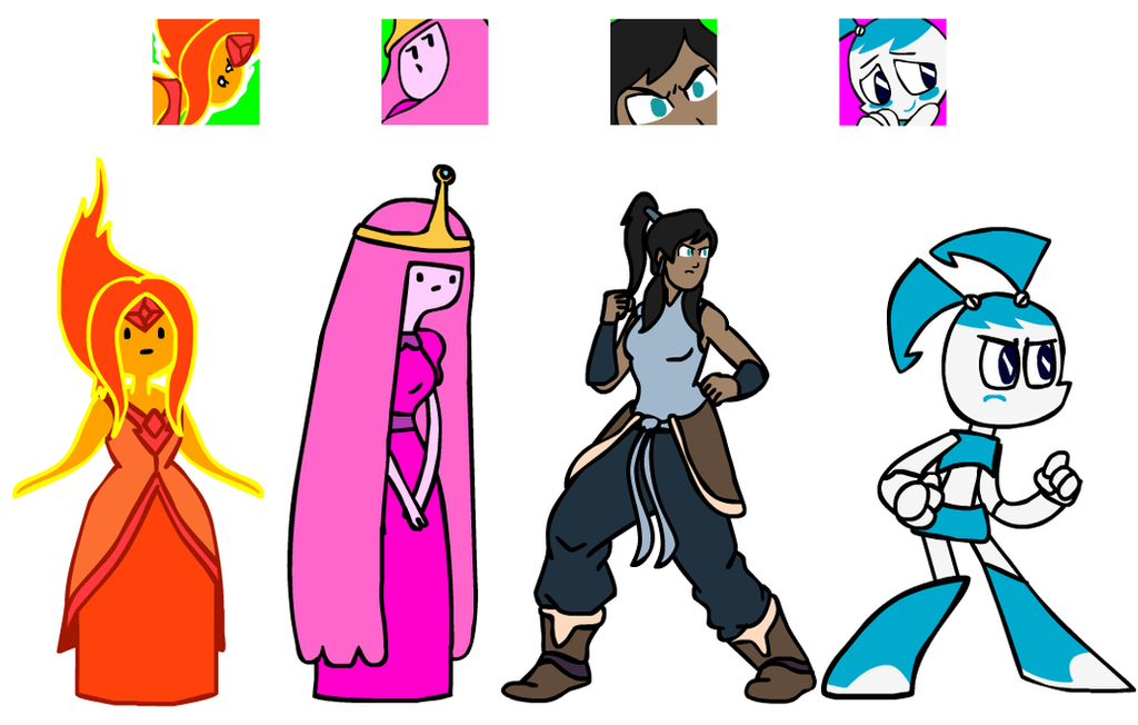 toon_gals__idles_icons_by_madoldcrow1105