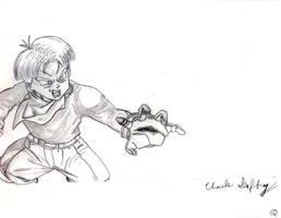 Trunks Fan art by princetrunks415