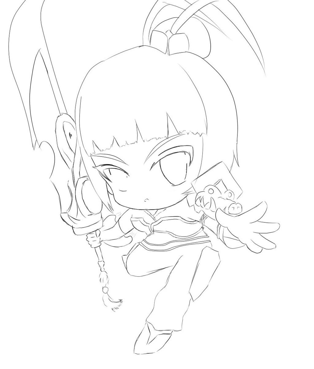 Riven Dragonblade chibi by Adiyy on deviantART