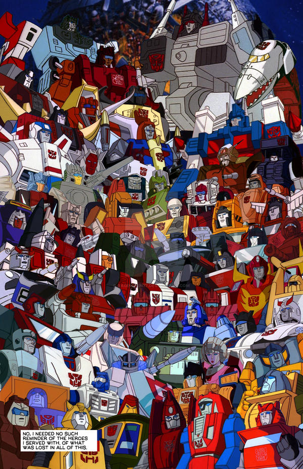 Transformers Generation 1 Cartoon Characters : Transformers generation comic page new by