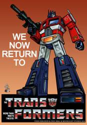 Optimus Prime G1 Rejoiner by ragingnin77