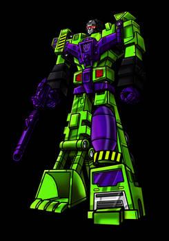 Transformers G1 Devastator