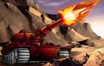 G1 Warpath Pow! Blam! BOOM!