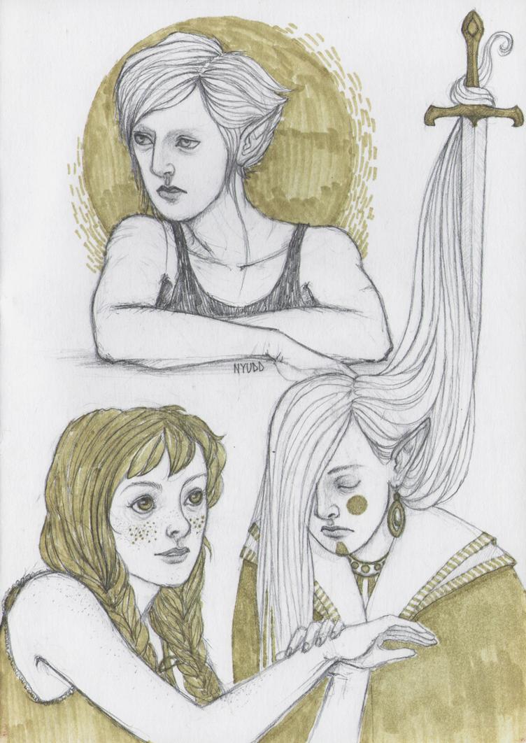 Girls by Nyudd