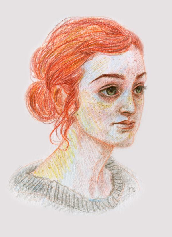 Portrait challenge by Nyudd