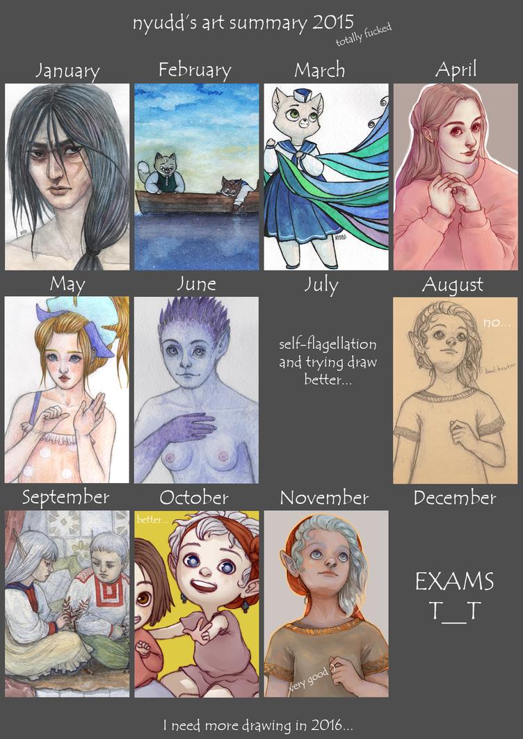 Art summary 2015 by Nyudd