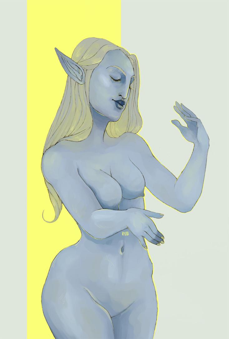 bluenymph by Nyudd