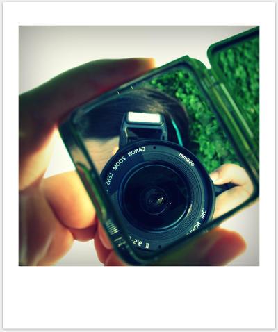 Mirrored Polaroid by Lilywen