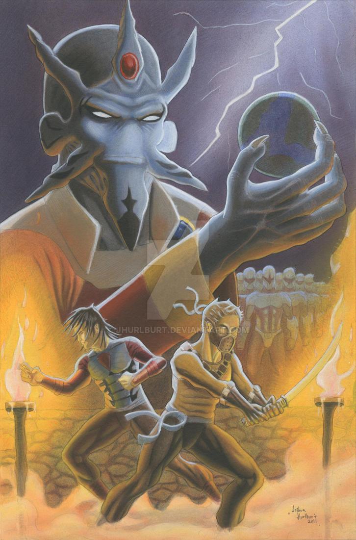 Conquest Cover by JHurlburt