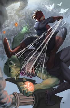 Spider vs Goblin