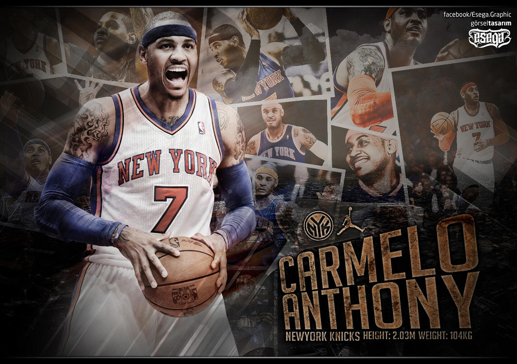 Carmelo anthony wallpaper by esegagraphic on deviantart carmelo anthony wallpaper by esegagraphic voltagebd Images