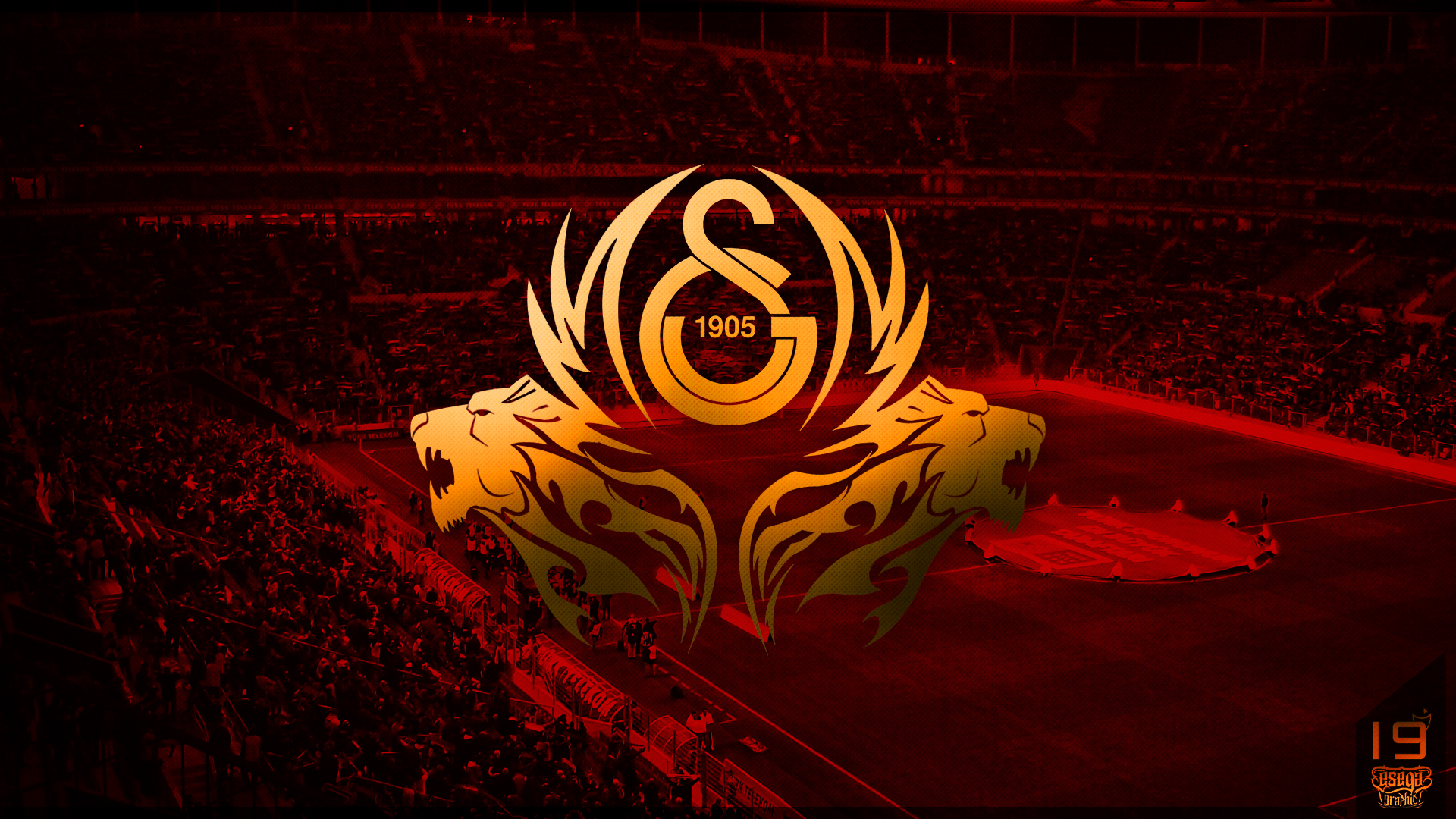Galatasaray Wallpaper by EsegaGraphic on DeviantArt