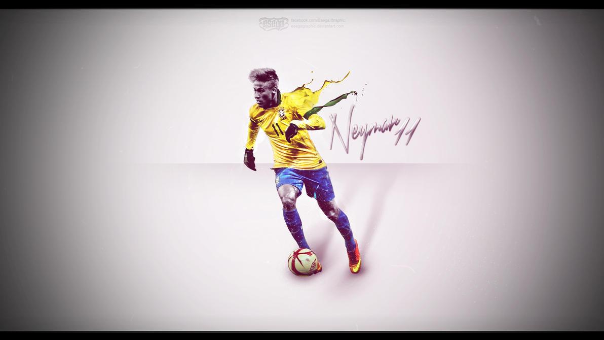 NeymarDaSilvaWallpaperWork by EsegaGraphic