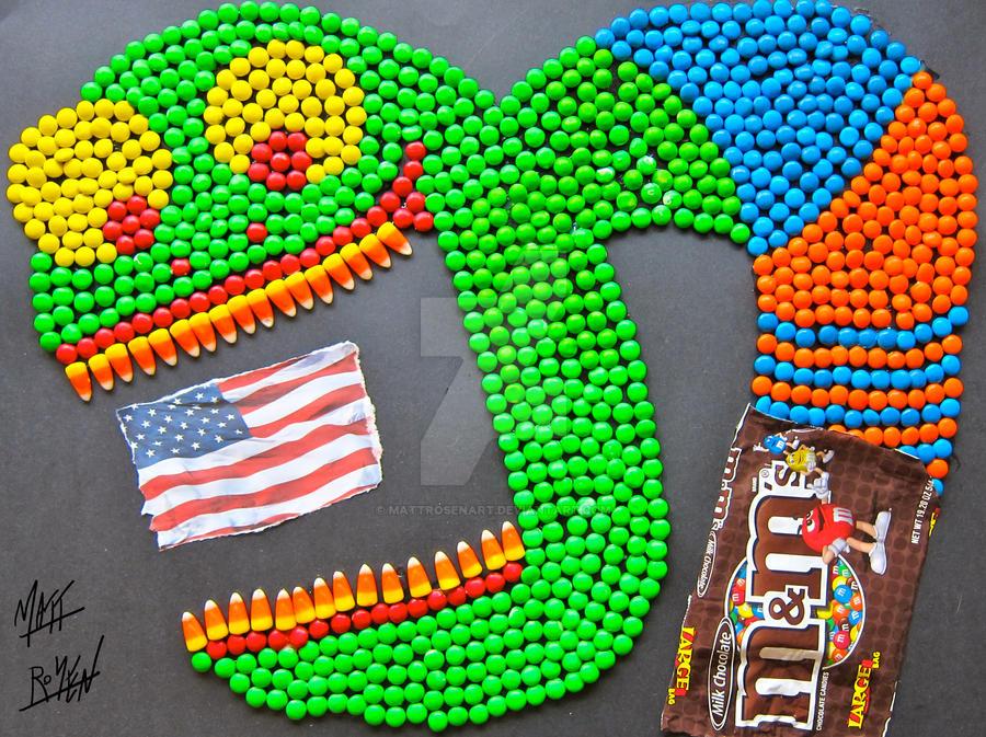 Obesity is Eating America by MATTROSENART