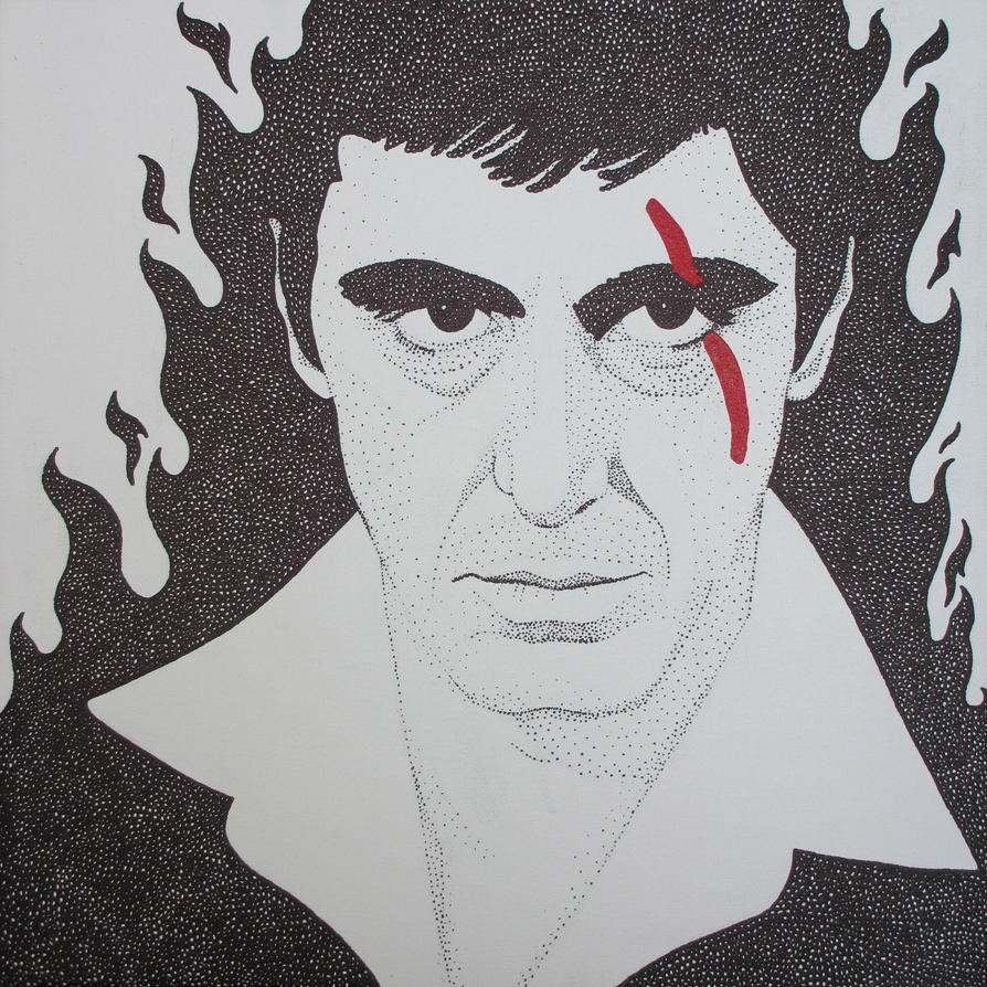 Inferno Scarface by MATTROSENART