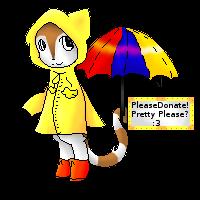 Rain Cat Commission by Ninja27boss