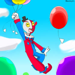 beppi and balloons by Yulianne0129