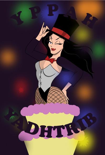 Zatanna-Birthday by mikemen1991