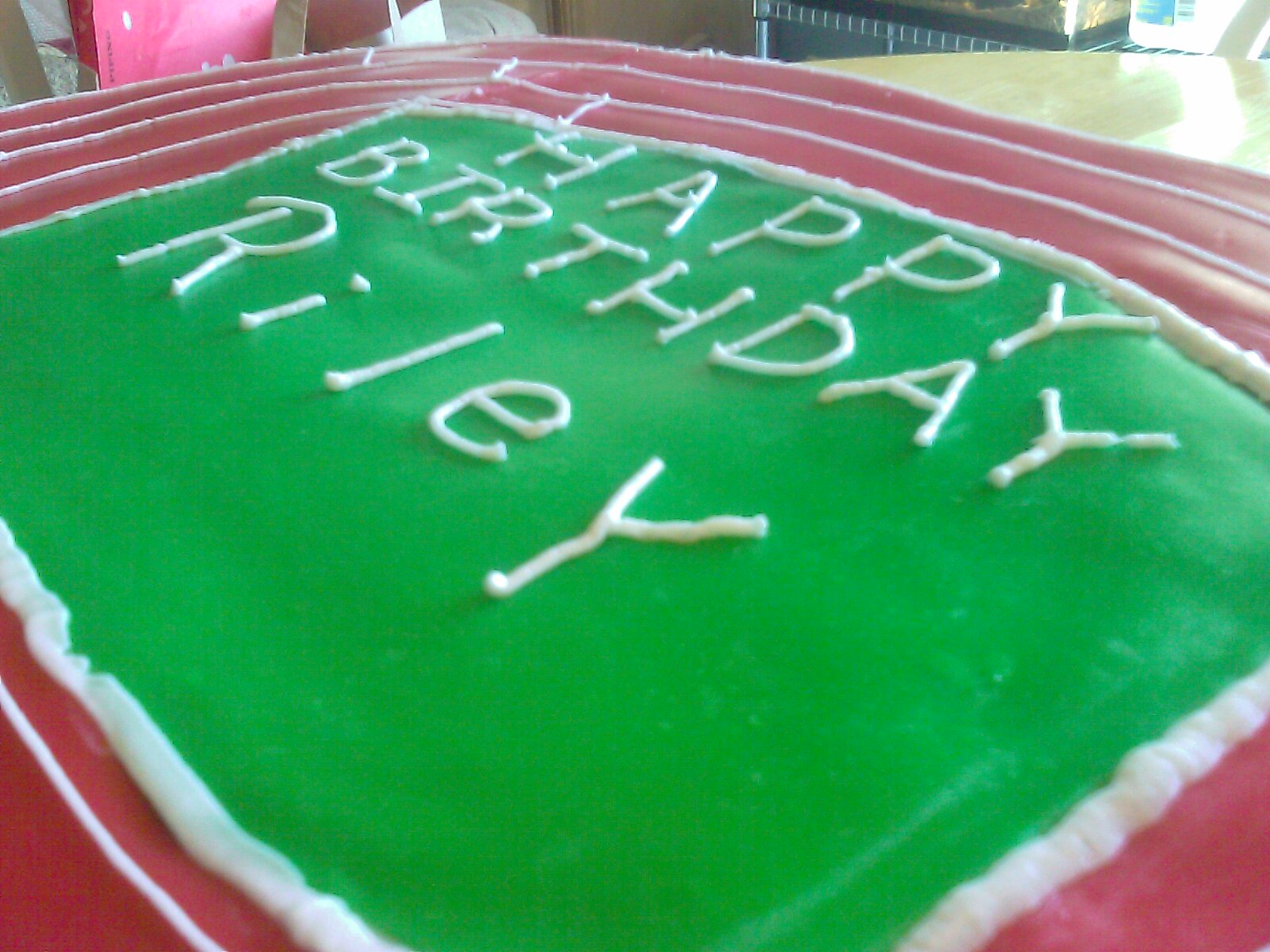 Dartmouth #track #field #grooms #cake Addison I Do'-s
