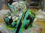 Sweet 16 Jack Skellington Cake