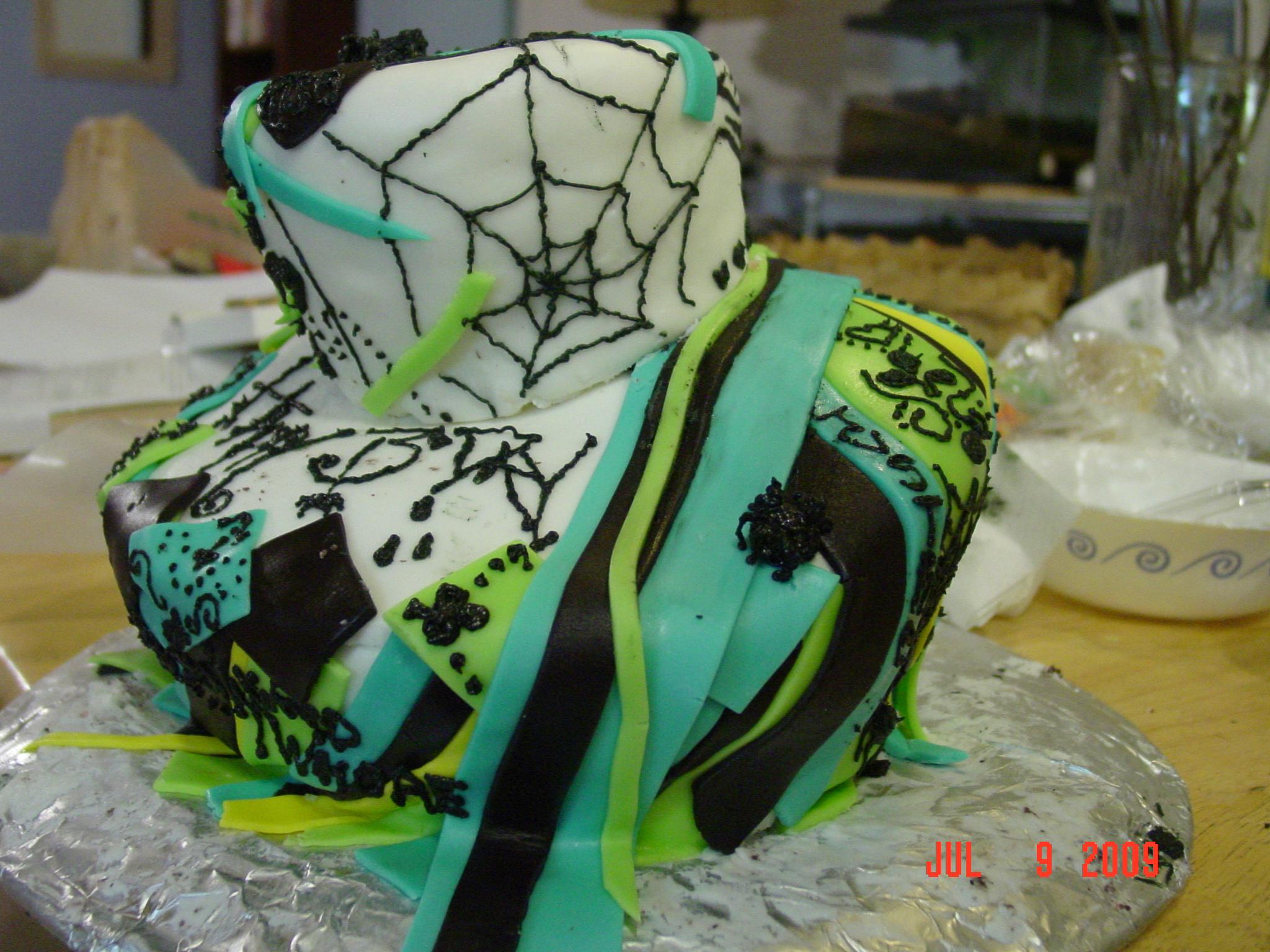 Jack Skellington Cake Topper Tutorial