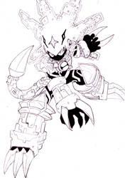 Megaman Gospel Beast Out by GBlastMan