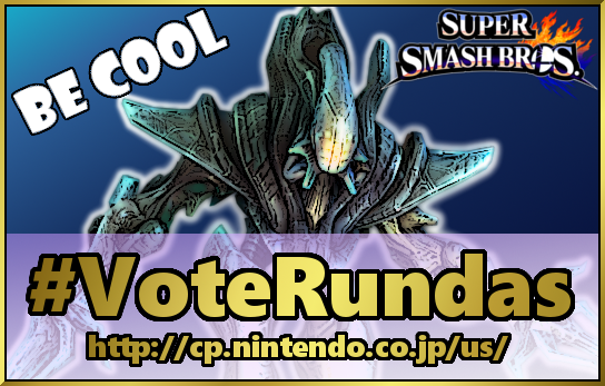 Vote Rundas Super Smash Bros DLC! by Varia31