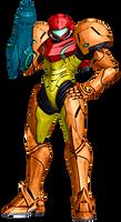 For Metroid Celebration - The Samus Pose by Varia31
